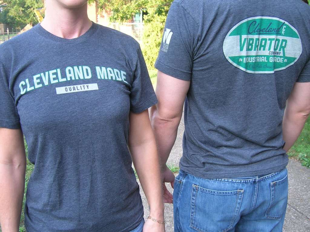 "Cleveland Vibrator Co. ""Cleveland Made"" T-shirt"